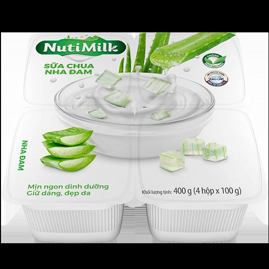NutiMilk Sữa chua Nha đam