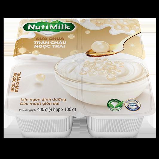 NutiMilk Sữa chua Trân Châu Ngọc Trai