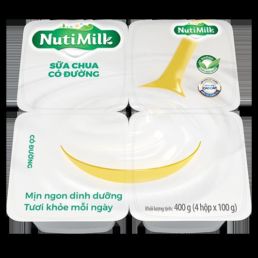 NutiMilk Sữa chua Có đường
